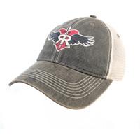 The Ruff Rider Co. Vintage Black Trucker Cap