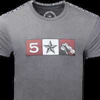 FIVE STAR MONKEY ORIGINAL - Charcoal / Front