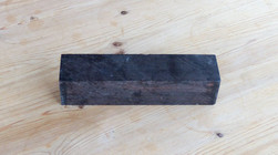 African Blackwood Handle Blank - 195x45x45mm