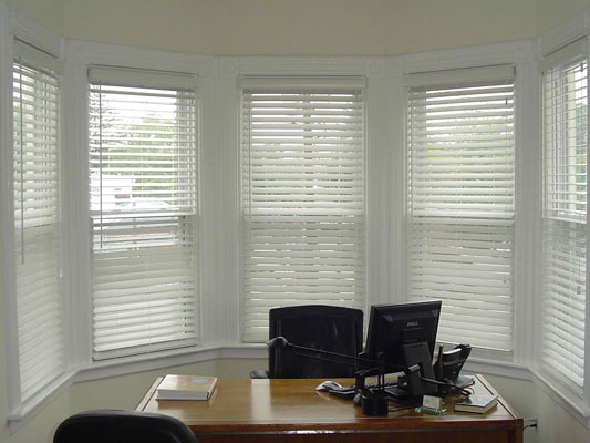 Unique ideas for your office window treatments 3 step for Office window ideas