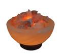 Firebowl Salt Rock Lamp