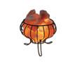 Feng Shui Salt Rock Lamp Basket
