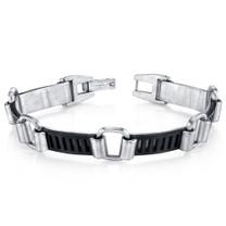 Mens Urban Class Matte Finish Stainless Steel Bracelet Style SB4282