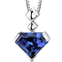 Superman Cut 6.25 Carats Alexandrite Sterling Silver Pendant And Style SP8818