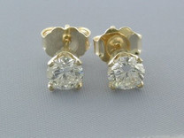 APR$2870 0.52CT DIAMOND STUDS EARRINGS NR Style E8442