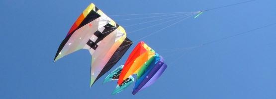 Single line foil kites