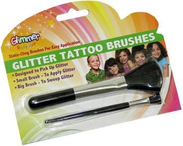 Glitter Tattoo Brush Pack