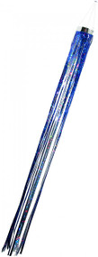 Holographic Mylar Windsock - blue