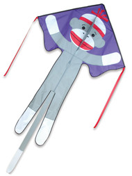 Sock Monkey Large Easy Flyer Kite