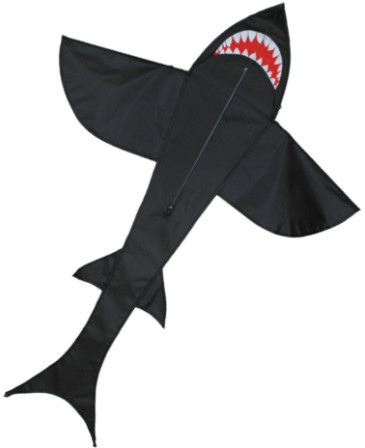 Shark Kite - 5ft - Black