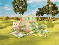 Calico Critters Let's Go Camping Set