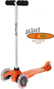 Orange Mini Scooter