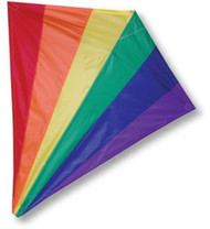 30-inch Diamond Kite - Rainbow