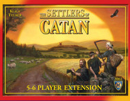The Settlers of Catan 5 & 6 Player Extension - 4th Edition