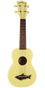 Makala Shark Ukulele - Yellow Coral