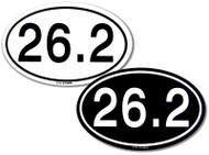 26.2 Marathon Stickers
