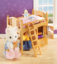 Calico Critters Sister's Loft Bed Set