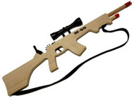 M-60 Rubber Band Rifle with Scope and Sling