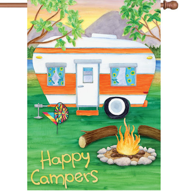 Happy Campers House Banner