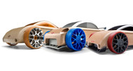 Automoblox 2012 Mini C9-R/S9-R/C9-S 3-Pack