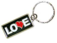 Love MI Keychain