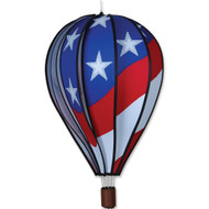 "22"" Hot Air Balloon Hanging Spinner - Patriotic"