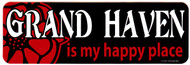 Grand Haven is My Happy Place Sticker