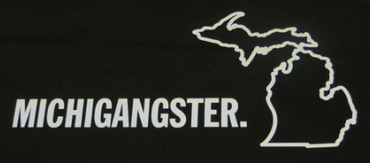 Michigan Awesome - Michigangster Sticker