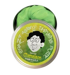 Crazy Aaron's Thinking Putty Heat Sensitive Hypercolor - Chameleon