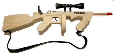 The Boss Tommy Gun with Scope and Sling