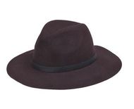 Peter Grimm Caspian Hat - Dark Brown