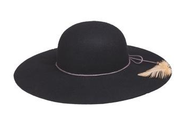 Peter Grimm Delia Hat - Black