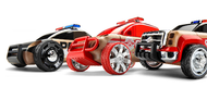 Automoblox Mini Emergency Response Line 3-Pack