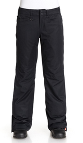 Roxy Backyard Snowboard Pants: Anthracite