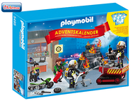 Playmobil Advent Calendar: Fire Rescue Operation