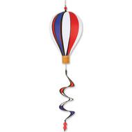 "12"" Hot Air Balloon Hanging Spinner - Patriotic"