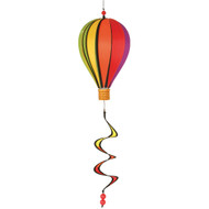 "12"" Hot Air Balloon Hanging Spinner - Rainbow"