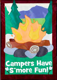 Campers Have Smore Fun House Banner