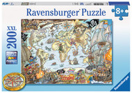 Ravensburger Pirate Map Puzzle