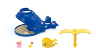 Calico Critter Splash & Play Whale - Box Contents