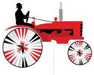 Red Tractor Windwheel