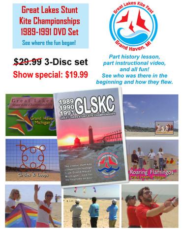 GLSKC 1989-1991 3-Disc DVD Set
