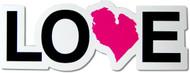 Love Michigan Magnet - pink