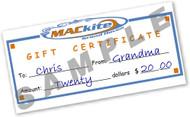 MACkite In-store Gift Certificate