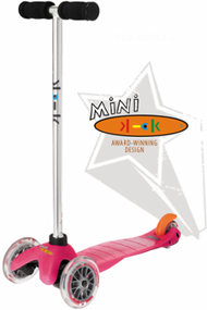 Mini Kick Scooter in Pink