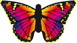 "Ruby Butterfly Kite ""L"""