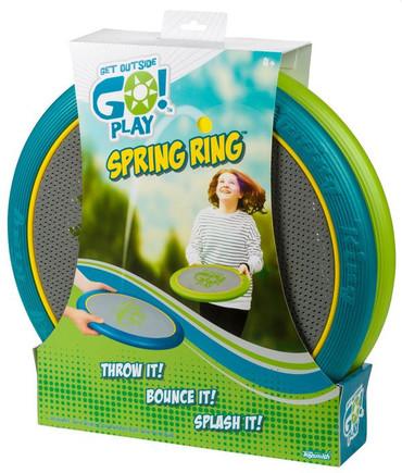 Spring Ring Hand Trampoline Game