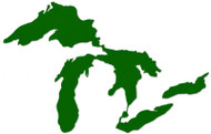 Great Lakes Proud Sticker Green