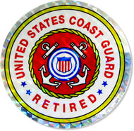 U.S. Coast Guard retired sticker