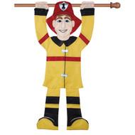 Fireman 3D Banner
